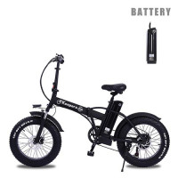 ride66 R8 Folding Fat Tire electric bicycle 48V 15AH battery City Bike