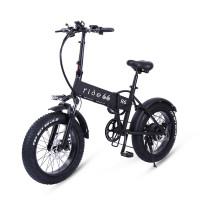 ride66 R6 Folding Fat Tire electric bicycle 48V 12.8AH LG cell battery City Bike