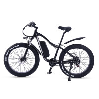 Ride66 RX02 Electric Bike 1000W Fat Tire Adults Mens 48V 16A LG  Lithium Battery 26 Inch 21 Speed Aluminum Frame